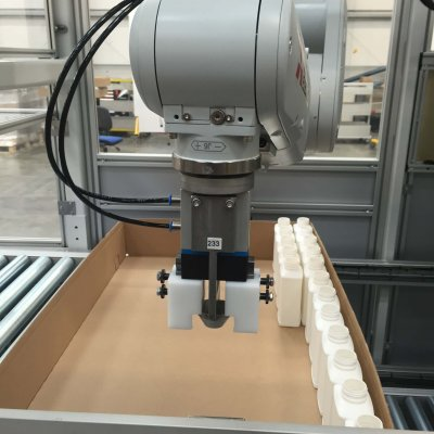Robotic Tray Packer